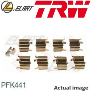 ACCESSORY KIT DISC BRAKE PADS FOR MAZDA MX 5 I NA 8AN1 BPF1 BP MIATA I NA TRW