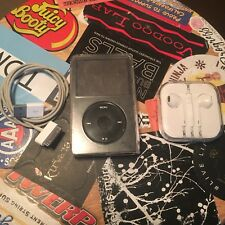 Apple iPod Classic 80Gb 5th Gen Generation Black Bundle