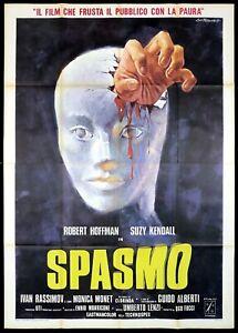 SPASMO MANIFESTO FILM UMBERTO LENZI ENNIO MORRICONE GIALLO 1974 MOVIE POSTER 4F