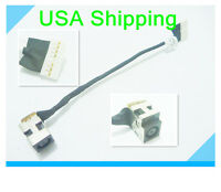 Original DC power jack in cable harness for HP G62-226NR G62-227CL G62-228CL