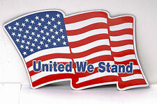 "Magnetic Patriotic Flags - ""United We Stand"" - lot of 25 pcs"