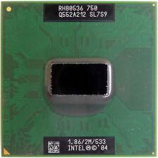 CPU Intel Pentium M750 Centrino SL7S9 1.86ghz processore x Toshiba Satellite M40