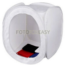 "20"" 50 x 50cm Photo Studio Light Shooting Tent Cube Soft Box with 4 Backdrops"