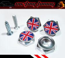 Union Jack UK Mini cooper S JCW R55 R56 R57 R60 countryman License Plate Bolts