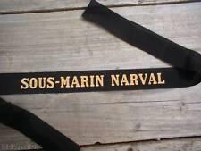 SOUS MARIN NARVAL ---------- RUBAN BACHI MARINE....... SOUS MARIN NARVAL