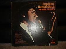 "Parrot XPAS-71038 Engelbert Humperdinck - We Made It Happen 1970 12"" 33 RPM"