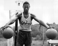 1955 Overbrook WILT CHAMBERLAIN Glossy 8x10 Photo High School Basketball Print