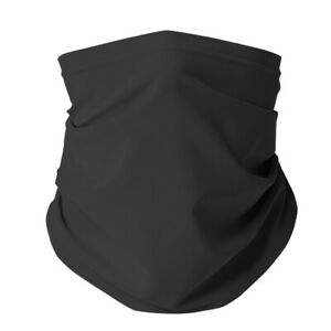 5PC Reusable Face Shield Mask/ Neck Gaiters Charcoal