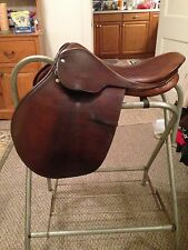 "English Saddle 16"" Courbette"