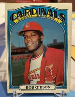 1972 Topps #130 Bob Gibson St. Louis Cardinals
