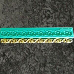 Border Sugarcraft Silicone Mould Fondant Molds Gumpaste Cake Decorating Tools
