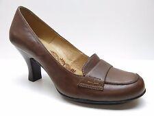 Sofft Brown Leather Dress Pumps Heels 9N 9 Narrow NEW MSRP $129