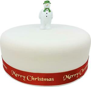 The Snowman Resin Figurine Topper Cake Decorating