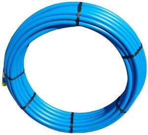 32MM X 50MTR BLUE MDPE WATER MAINS PIPE