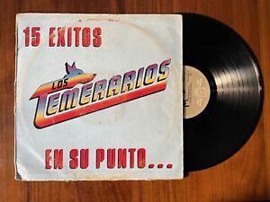 LOS TEMERARIOS - 15 EXITOS EN SU PUNTO [LP VINYL]  CBS Mexico 1986