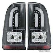 Fits Toyota Hilux Vigo Champ Sr Mk6 Mk7 2005 2014 Tail Lamp Light Led Black L+R