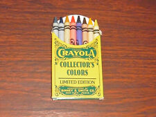 Binney & Smith No. 8 Crayola Collector's Colors Crayons Limited
