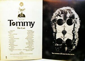 TOMMY -1975 - Ken RUSSEL - Press Book ORIGINAL + 13 PHOTOGRAPHIES - THE WHO