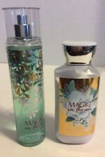 Bath And Body Magic In The Air Fine Mist And Lotion Set #1
