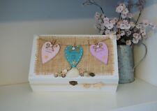 Honeymoon Memories Keepsake Box Personalised Gift Anniversary Mr & Mrs Wedding