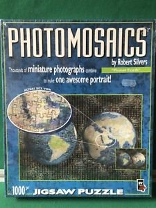 'Photo Mosaics' Planet Earth 1000pc Jigsaw Puzzle by Robert Silver
