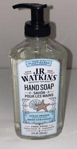 J.R. Watkins 23042 Ocean Breeze Scent Liquid Hand Soap 11 fl. oz. new