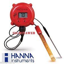 Monitor Digital PH Grochek HANNA HI981401N Medidor continuo Hidroponia Acuario