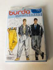 Burda Men's Sewing Pattern 6264 Chest 36-44 Vintage 1980s Pants Jackets