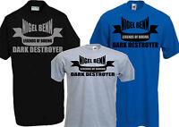 NIGEL BENN DARK DESTROYER BOXING T-SHIRT LEGENDS  CHAMPION