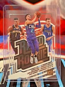 2020-21 Donruss Clearly LAMELO BALL, ZION & LUKA Rookie Special SSP Rated Rookie