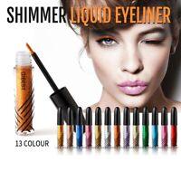 QIBEST DIAMOND LIQUID Eyeshadow Glitter Glow Liquid metallic Eye Shadow 13Colors