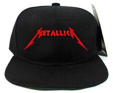 THE METALLICA SNAPBACK CAP HAT FANS SOUVENIR COLLECTIBLES