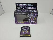Transformers Astrotrain G1 Reissue Walmart Exclusive Box and Instructions ONLY