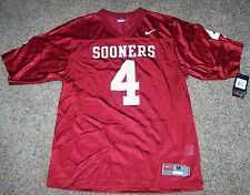 cf2537516 New - Oklahoma Sooners Nike  4 Home Red Football Jersey - Men s Sizes