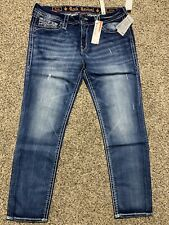 NWT ROCK REVIVAL DARAY SKINNY NEW DESIGNER JEANS WOMENS SIZE 33