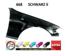 BMW 3 E46 Kotflügel 668  SCHWARZ II FACELIFT RECHTS  neu lack.  bj. 01-06