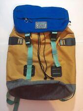 Burton Tinder Pack Laptop Day Backpack Vintage Style Rucksack Gold/Blue
