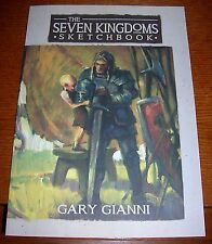 GEORGE R.R. MARTIN GARY GIANNI SIGNED LIMITED 250 SEVEN KINGDOMS SKETCHBOOK