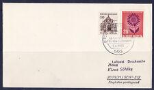 vol   /11/   lufthansa   allemagne  Zurich    1965