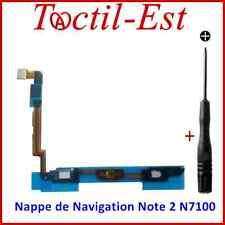 Nappe de Navigation Boutons Home Menu Retour Samsung Galaxy Note 2 N7100-N7105