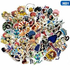 60PCS/SET FAIRY TAIL Anime Stickers for Luggage Laptop Skateboard Cup DIY Decal