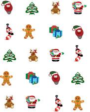 Christmas Fun and Bright Waterslide Nail Decals/Nail art