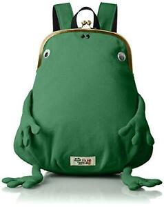 Gym master Fluke Frog backpack clutch type Mini Size green