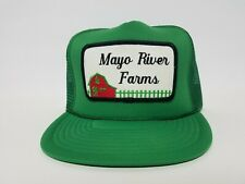Mayo River State Farms Green Trucker Style Adjustable Snapback Hat