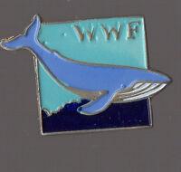 Pin's WWF / baleine