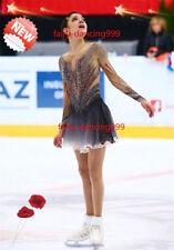 New Ice Figure Skating Dress Baton Twirling Custom Dance Dress Competition p742