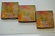 Lot of 3 NEW BEAUTE BASICS Foiled Eyeshadow in Satin Taupe, 0.14oz Lot of 3