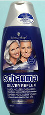 Schwarzkopf Schauma Silver Reflex Shampoo Active Hair Care Reduced Yellowness