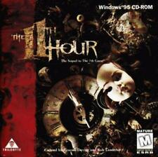 The 11th Hour + Guide PC CD investigative grisly murders mystery twisted game!