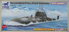 "Neues AngebotBRONCO NB5020 Russian Akula II Class Attack Submarine ""K335 Giepard"" in 1:350"